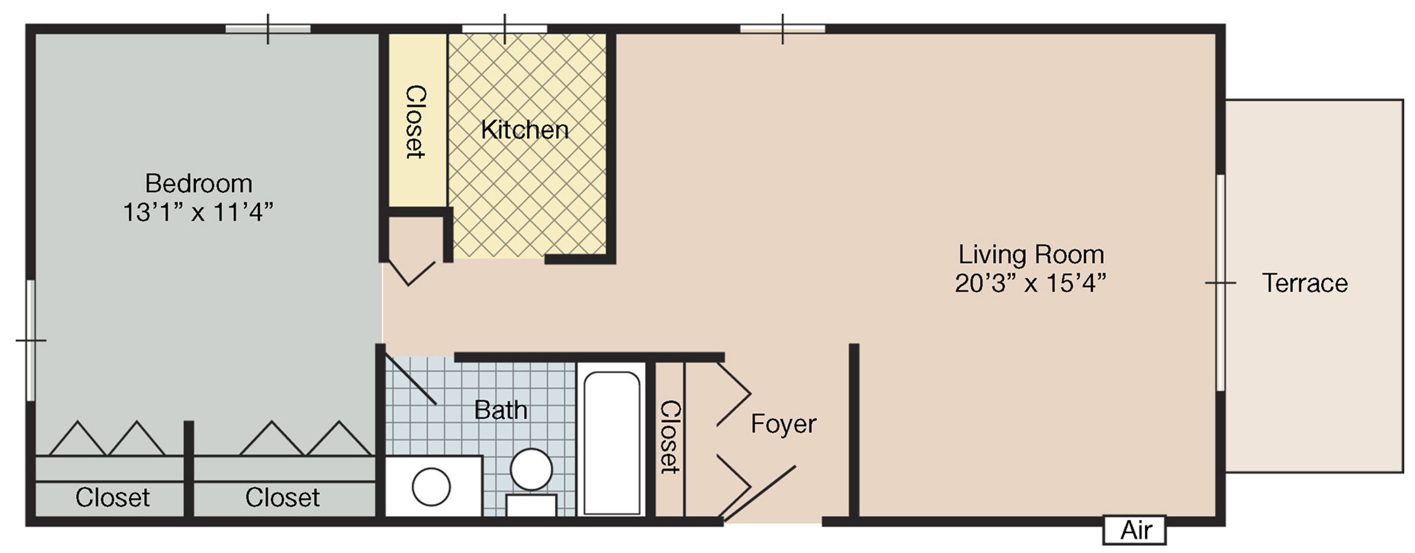farmwestfloorplan1bedroom